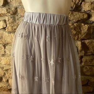 indigo soul Skirts - Indigo Soul Mesh Skirt NWT SIZE Large